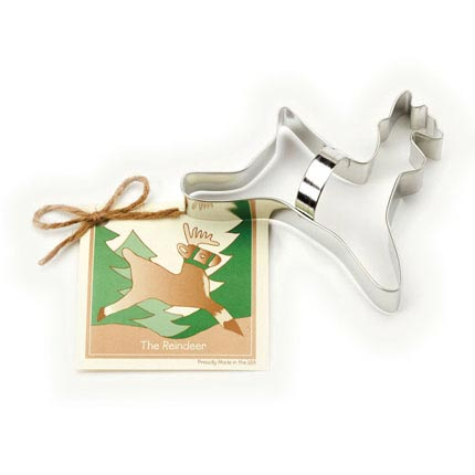 Reindeer Cookie Cutter - Traditional