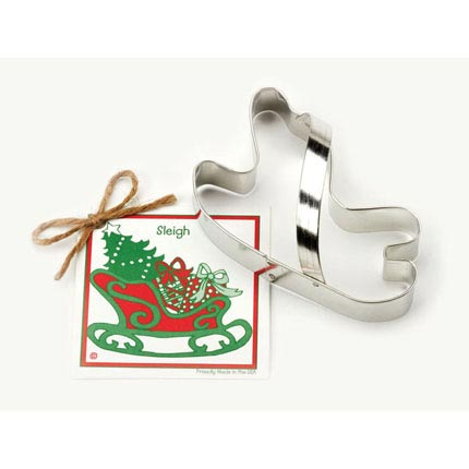 Sleigh Cookie Cutter - Traditional