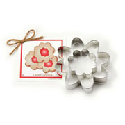 Linzer Cookie Cookie Cutter - Traditional
