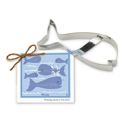 Whale Cookie Cutter - Traditional