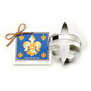 Fleur de Lis Cookie Cutter - Traditional