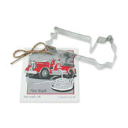 Fire Truck Cookie Cutter - Traditional