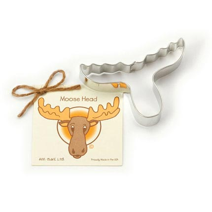 Moose Head Cookie Cutter - Traditional