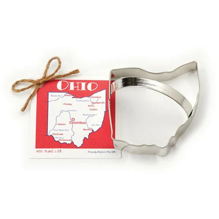 Ohio Cookie Cutter - Traditional