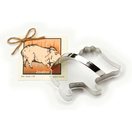 Javelina Cookie Cutter - Traditional