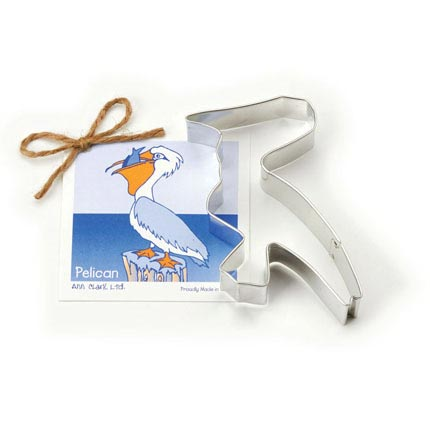 Pelican Cookie Cutter - Traditional