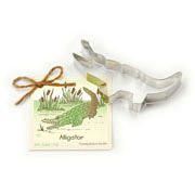 Alligator Cookie Cutter - Traditional