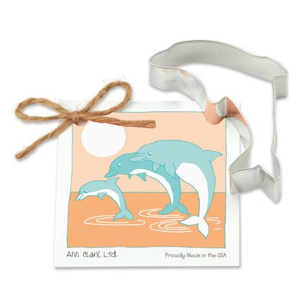 Dolphin Cookie Cutter - Traditional