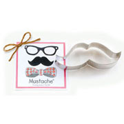 Mustache Cookie Cutter - Traditional
