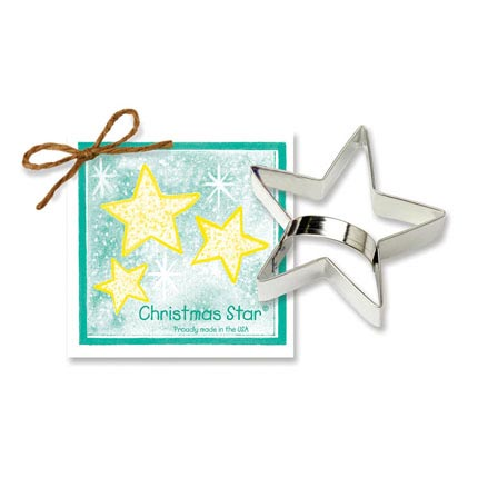 Christmas Star Cookie Cutter - Traditional