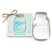 Mason Jar Cookie Cutter - Traditional