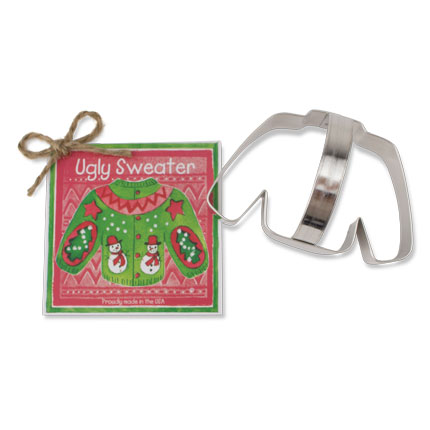 Sweater Cookie Cutter - Traditional