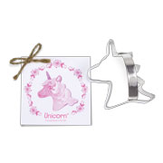 Unicorn Head Cookie Cutter - Traditional