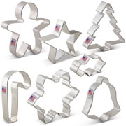 Cookies for Christmas cookie cutters