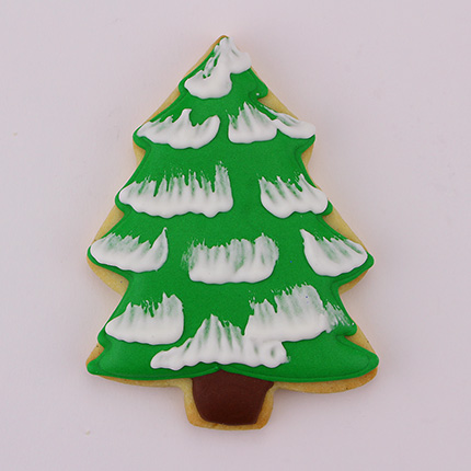 Snow Covered Tree Cookie Cutter