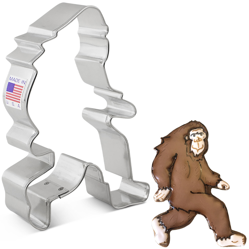 Bigfoot Cookie Cutter