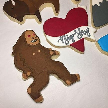 Bigfoot Cookie Cutter