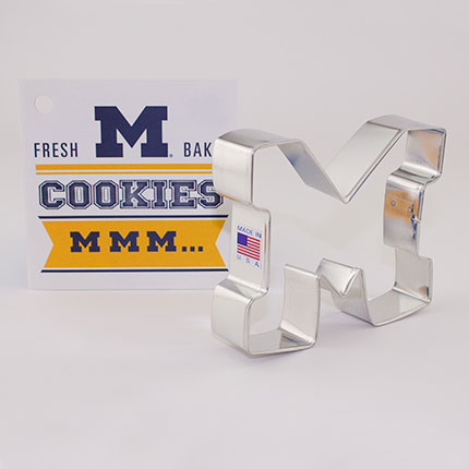 Custom-University Of Michigan Athletics Cookie Cutter