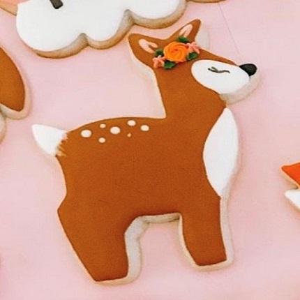Cute Deer Cookie Cutter