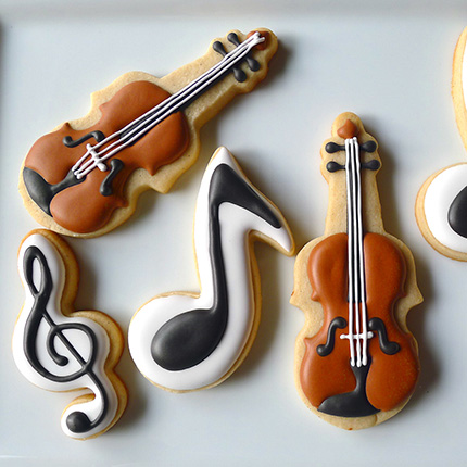 Music Note Cookie Cutter
