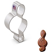 G Clef Cookie Cutter