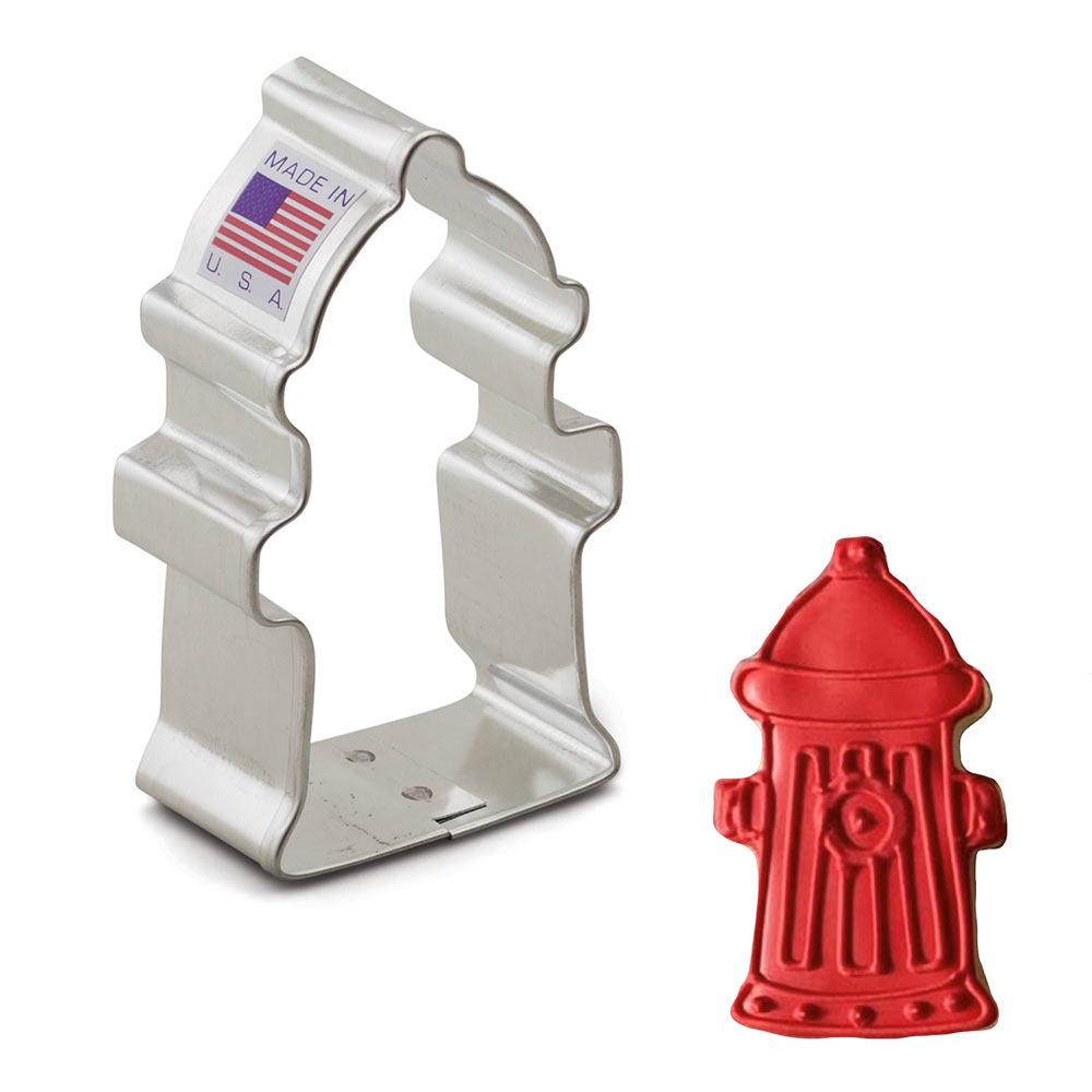 Fire Hydrant Cookie Cutter