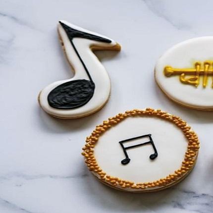 Music Note Cookie Cutter