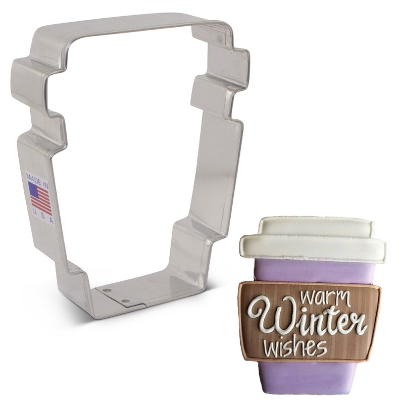 Flour Box Bakery's Latte Cup Cookie Cutter