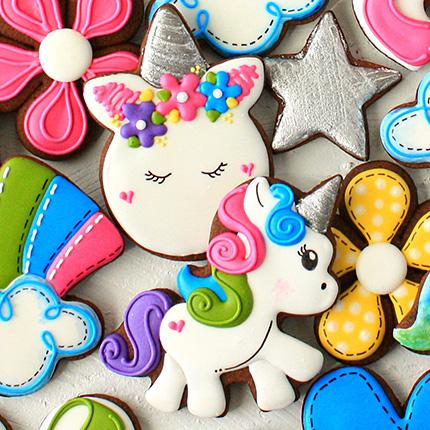 LilaLoa's Cute Unicorn Cookie Cutter