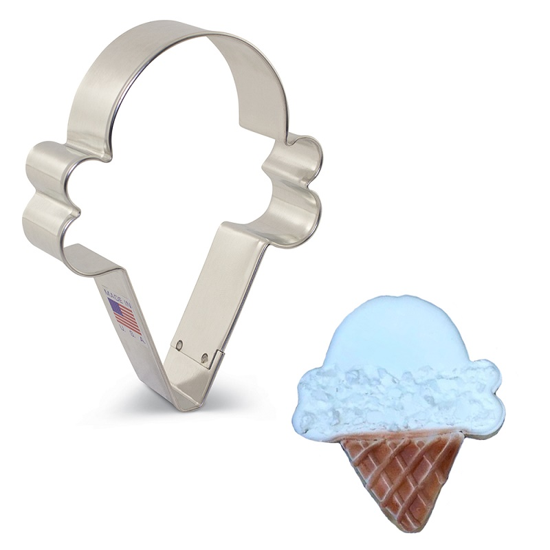 Ice Cream Cone Cookie Cutter