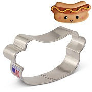 Flour Box Bakery's Hot Dog Cookie Cutter