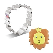 Lion Face Cookie Cutter