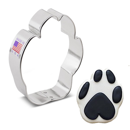 Paw Print Cookie Cutter