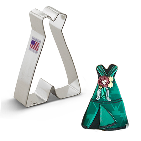 Teepee Cookie Cutter