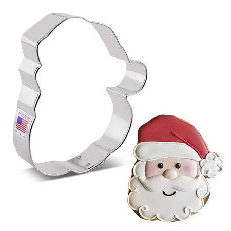 Santa Face Cookie Cutter