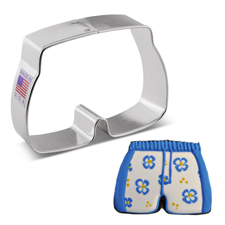 Bathing Suit Trunks Cookie Cutter