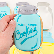 Mason Jar Cookie