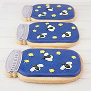 Mason Jar Firefly Cookies