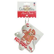Gingerbread Man Cookie Cutter - Ann's