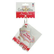 Plaque Cookie Cutter - Ann's