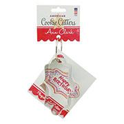 Plaque Cookie Cutter - Ann's