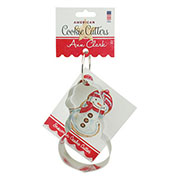 Snowman Cookie Cutter - Ann's