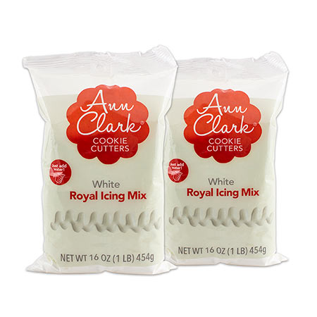 Ann Clark Cookie Cutters Royal Icing Mix 2 Pack