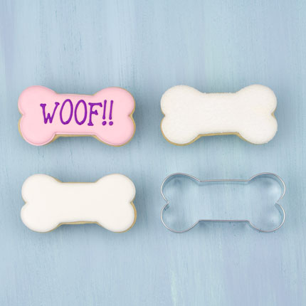 Dog Bone Cookie Cutter, 3 1/2