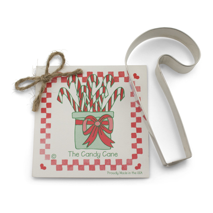 Candy Cane Cookie Cutter - Traditional