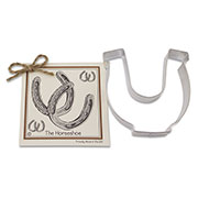 Horseshoe Cookie Cutter - Traditional
