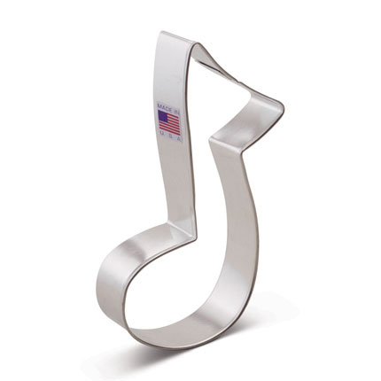 Large Music Note Cookie Cutter