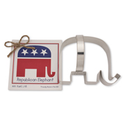 Republican Elephant Cookie Cutter - Traditional
