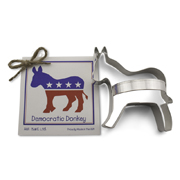 Democratic Donkey Cookie Cutter - Traditional
