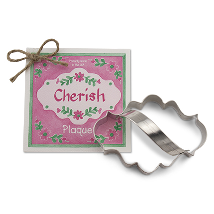 Plaque Cookie Cutter - Traditional